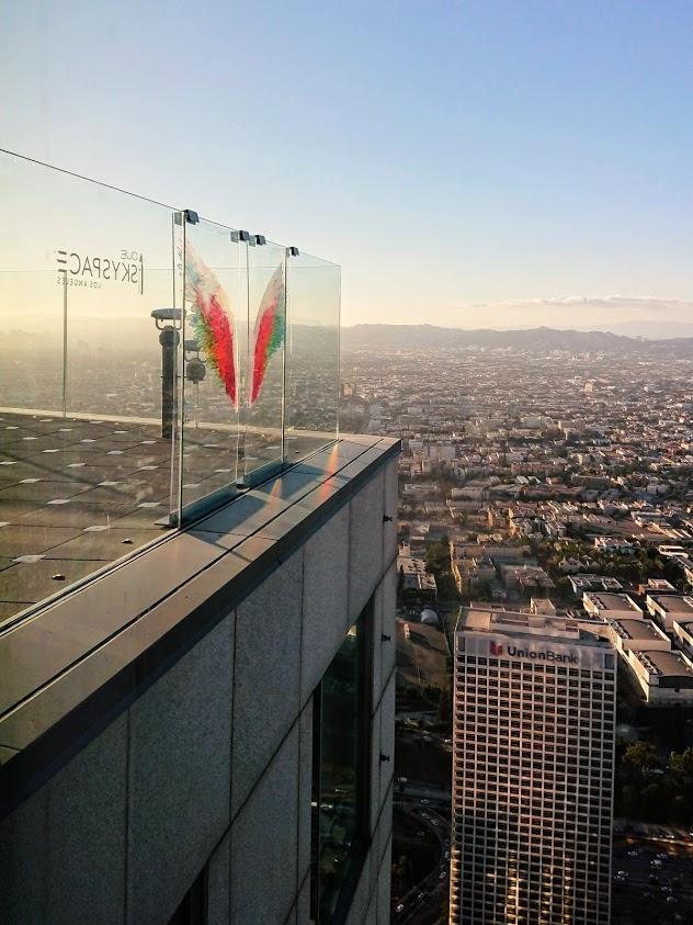 anielskie skrzydła w Los Angeles