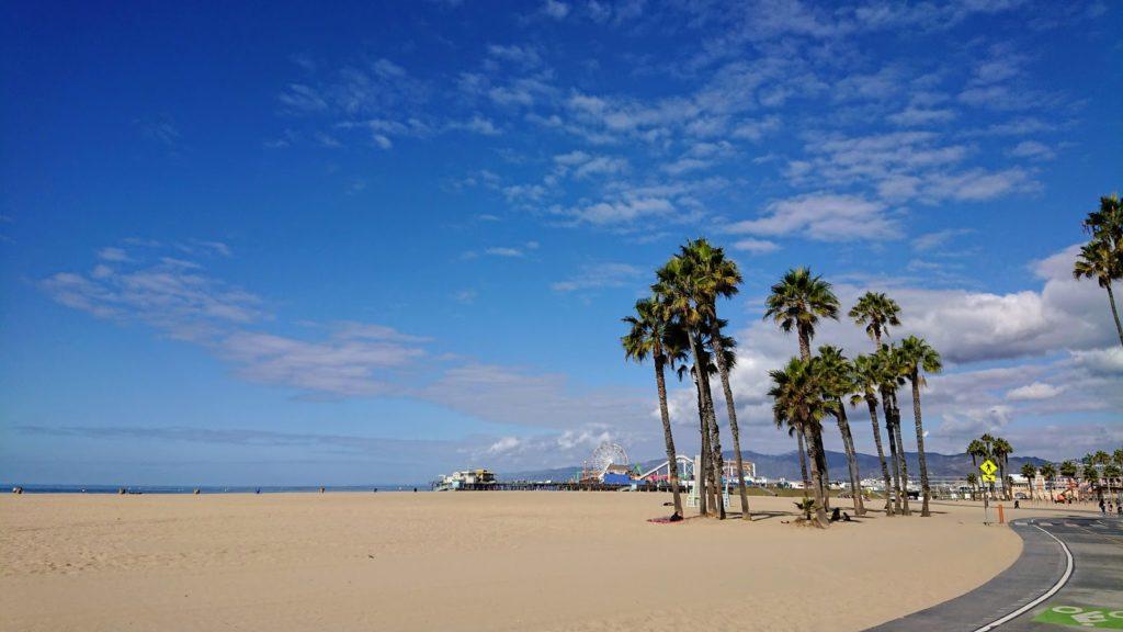 "Znane z filmów i gier molo ""Santa Monica Pier"""