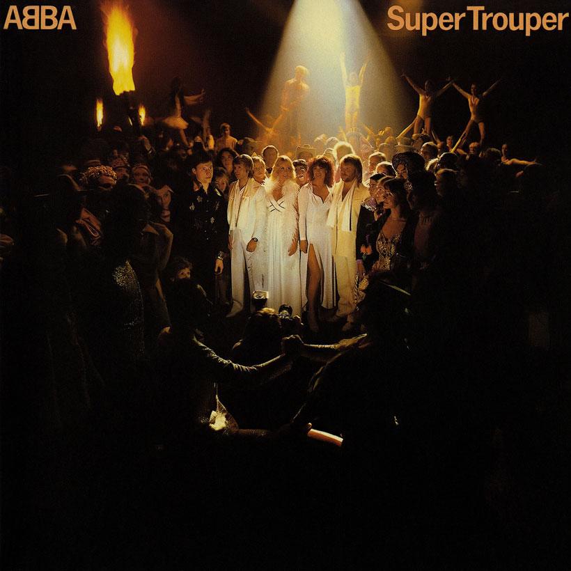 ABBA na okładce Super Trouper