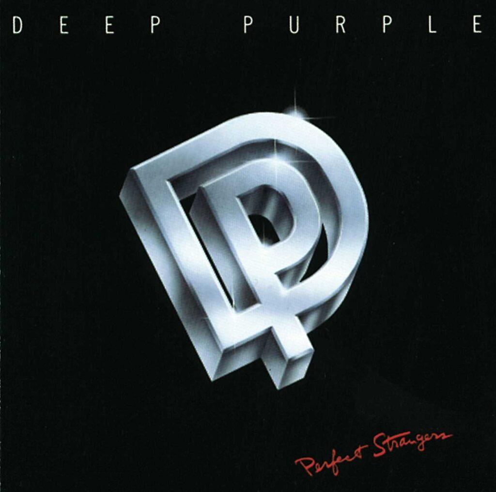 Okładka albumu Perfect Strangers zespołu Deep Purple
