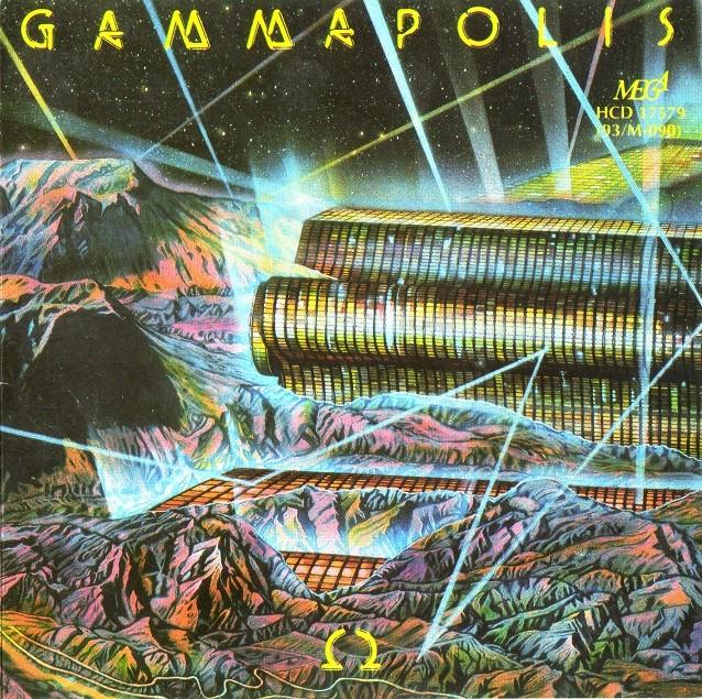 Okładka albumu Gammapolis zespołu Omega