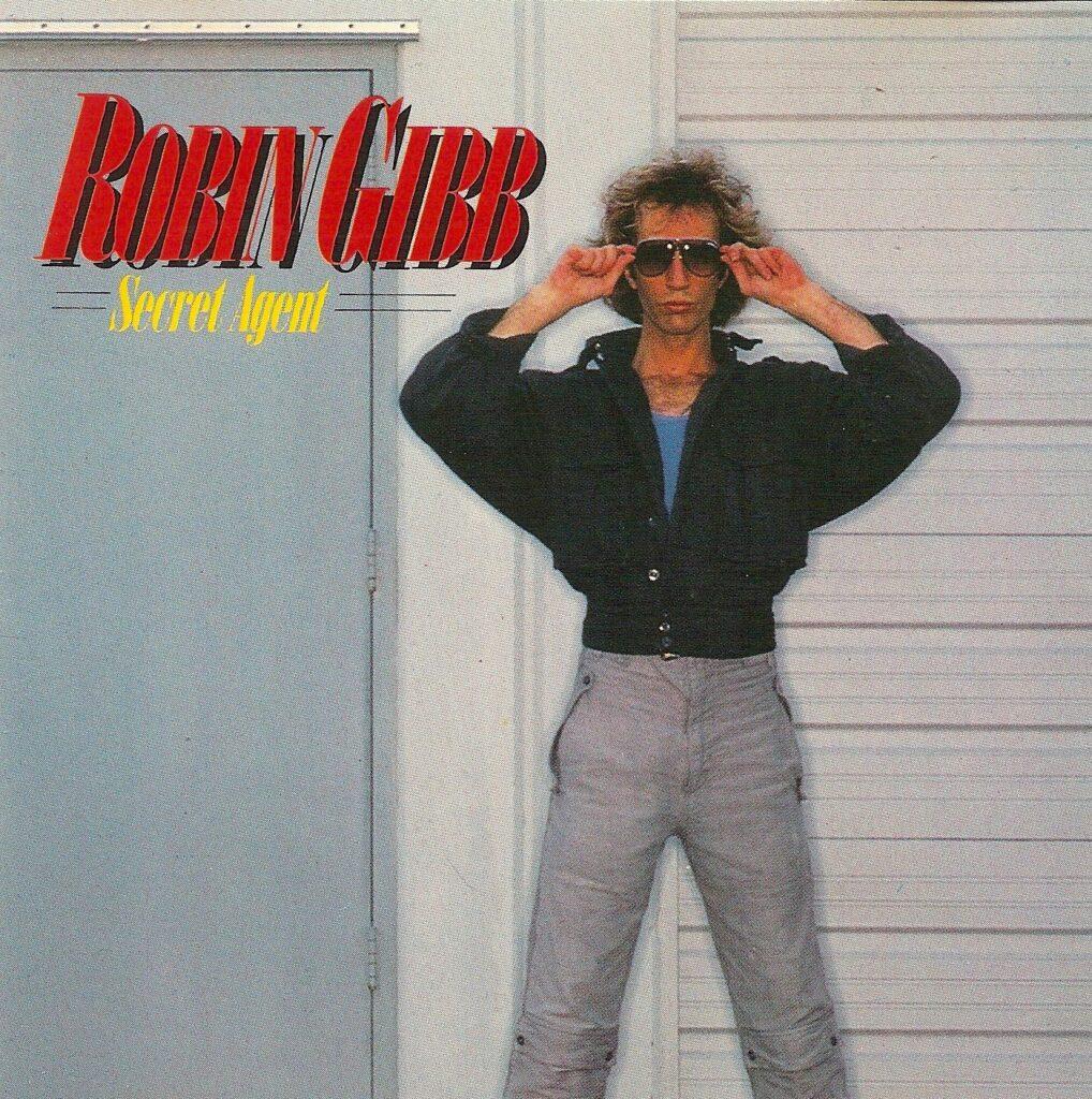 Robin Gibb na okładce albumu Secret Agent