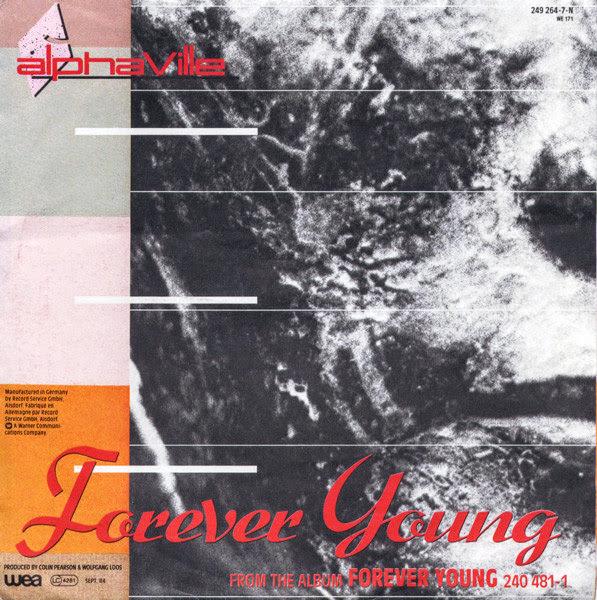 Okładka singla Forever Young zespołu Alphaville